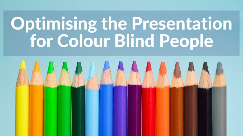 Presentation for Colourblind people